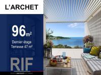 T4 de 96 m² avec terrasses