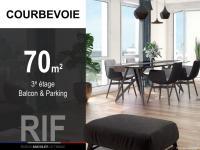 T3 de 70 m² avec balcon et parking