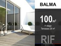 T5 de 100 m² avec terrasses