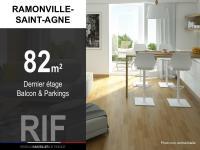 T4 82 m² avec balcon et parkings