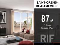 Appartement T4 de 87 m² avec terrasse