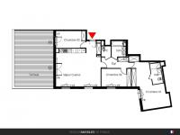 Appartement T4 de 101 m² avec terrasse de 46 m²