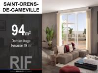 Appartement T5 de 94 m² avec une terrasse de 79 m²