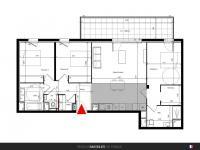 T4 de 91 m² avec terrasse et parking