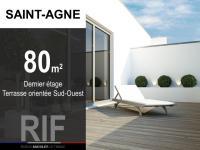 T4 de 80 m² avec terrasse 16 m²