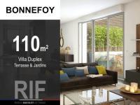 Villa de 110 m² avec terrasse et jardins