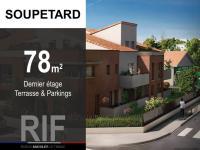 T4 de 78 m² avec terrasse et 2 parkings