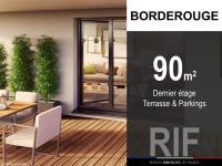T4 de 90 m² avec terrasse et parkings