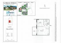 Appart neuf de type T2 de 45 m² à ALBENS