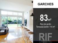 T4 de 83 m² avec terrasse et jardin