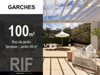 T5 de 100 m² avec terrasse et jardin