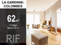 T3 de 62 m² avec balcon de 10 m²