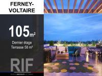 T4 de 105 m² avec terrasse de 58 m²