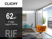 T3 de 62 m² avec loggia et parking
