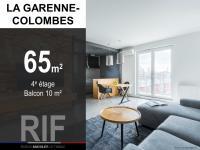 T3 de 65 m² avec balcon de 10 m²