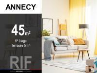 Appartement T2 de 45 m² avec terrasse de 5 m²