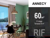 Appartement T3 de 60 m² avec terrasse de 8 m²