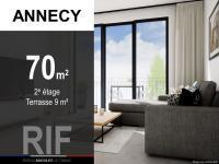 T3 de 70 m² avec terrasse de 9 m²