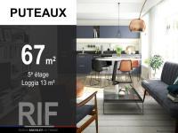 T3 de 67 m² avec loggia de 13 m²