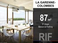 T4 de 87 m² avec balcon et parking