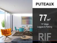 T3 de 77 m² avec loggias et parking