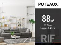 T4 de 88 m² avec loggias