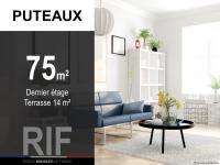 T3 de 75 m² avec terrasse de 14 m²