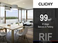 T4 de 99 m² avec balcons et parking