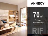 Appartement T3 de 70 m² avec loggia et garage