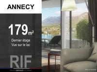 Appartement T5 de 179 m² avec vue sur le Lac d\'Annecy
