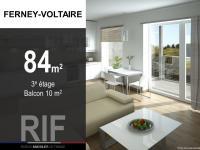 T4 de 84 m² avec balcon de 10 m²