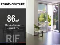 Appartement T4 de 86 m² avec terrasse.