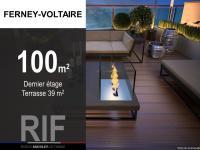 T4 de 100 m² avec terrasse de 39 m²