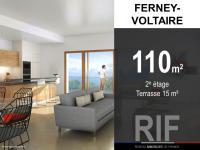 T4 de 110 m² avec terrasse de 15 m²