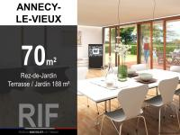 T3 de 70 m² avec terrasse et jardin