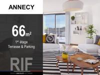 Appartement T3 de 66 m² avec terrasse et parking