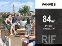 T4 de 84 m² avec terrasse 21 m²