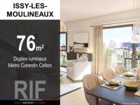 T3 de 76 m² proche métro Corenin Celton