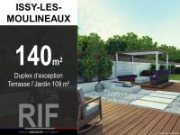 T4 de 140 m² avec terrasse et jardin de 109 m²