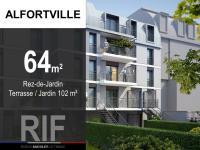 T3 de 64 m² avec terrasse et jardin