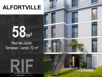 T3 de 58 m² avec terrasse et jardin