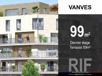 T4 de 99 m² avec terrasses