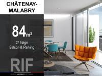 T4 de 84 m² avec balcon et parking