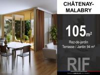T5 de 105 m² avec terrasse et jardin