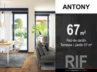 T3 de 67 m² avec terrasse et jardin