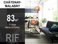 T4 de 83 m² avec balcon et parking