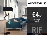 T3 de 64 m² avec parking