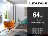 T3 de 64 m² avec terrasse et parking