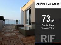 T4 de 73 m² avec terrasse de 26 m²