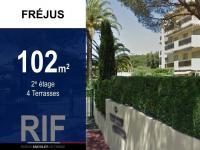 Appartement T4 de 102 m² avec terrasses